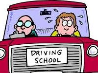 Image of a  student driver and their instructor